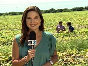 Globo Universidade na Universidade Federal do Semi-árido (Foto: Reprodução de TV)
