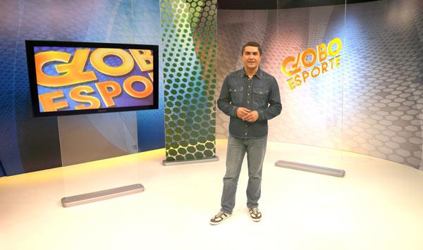 Jasson Goulart está entrou na RPC TV, afiliada da Rede Globo, em 1995 (Foto: Rubens Vandresen/ TV Globo)