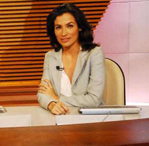 Perfil falso usa o nome de Renata Vasconcelos  (Foto: Divulgação/ TV Globo)