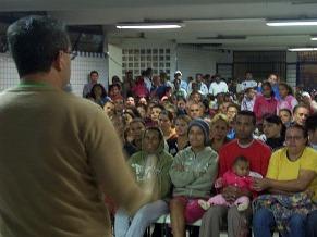 Reunião de moradores no Righetti (Foto: Divulgação)