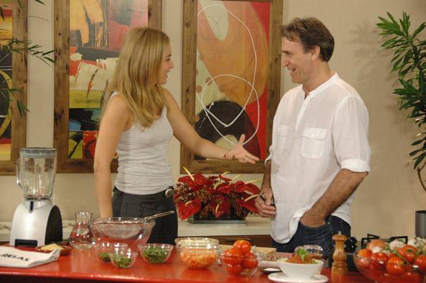 Angélica e Herson Capri (Foto: TV Globo/Debora Montenegro)