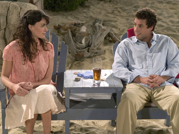 Adam Sandler e Paz Vega protagonizam o filme desta quarta-feira (Foto: Divulgação)