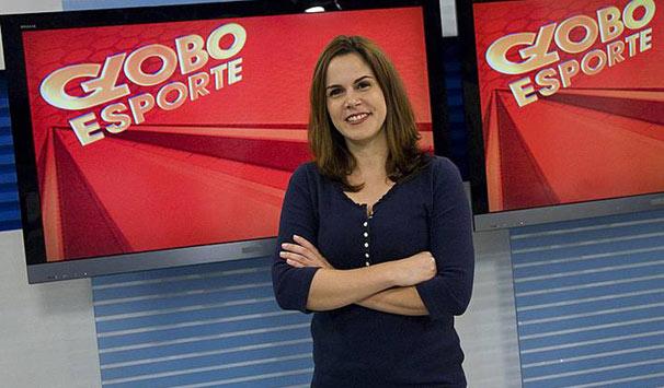 rede globo \u003e esportes globo esporte juliana maggi comanda ajuliana maggi globo esporte pernambuco (foto divulgação tv
