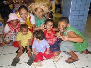 Festa junina do projeto mais música, mais esperança (Foto: Divulgação)