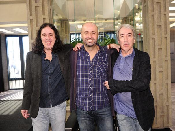 Geraldo Carneiro, Mauro Mendonça Filho e Alcides Nogueira (Foto: TV Globo/João Miguel Júnior)