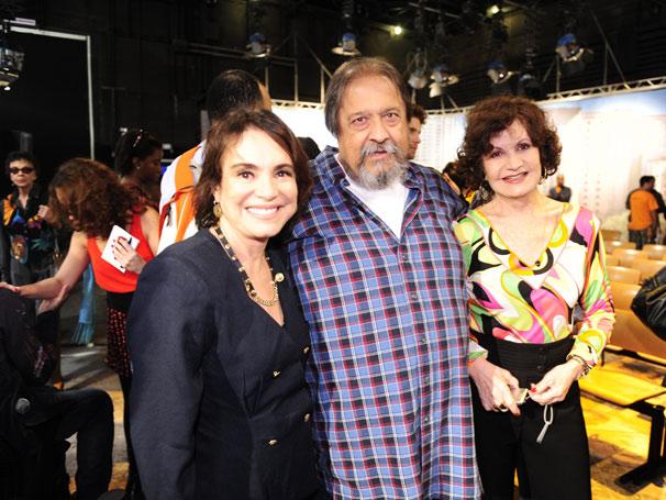 Regina Duarte, Roberto Talma e Rosamaria Murtinho (Foto: TV Globo/João Miguel Júnior)