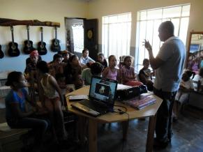 Projeto Casinha de Cultura - Palestra ECA (Foto: Divulgação)