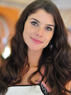 Alinne Moraes (Foto: TV Globo/ Estevam Avellar)
