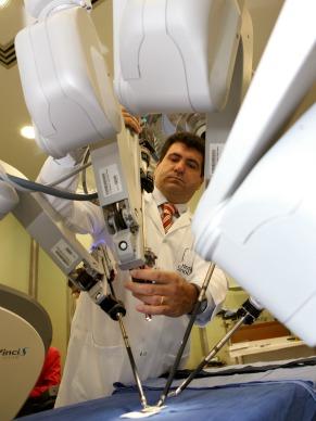 Sergio Samir Arap robótica (Foto: Maurilo Clareto / Divulgação)
