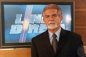 Domingos Meirelles foi o último apresentador (Foto: CEDOC/ TV Globo)