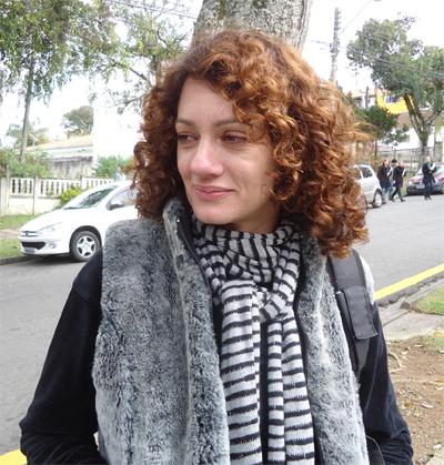 Anaí Bagnolin é a diretora do episódio (Foto: Divulgação/RPC TV)