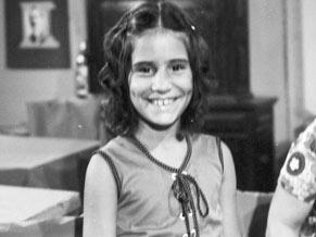 A trama marcou a estreia da atriz na Rede Globo (Foto: CEDOC/ TV Globo)