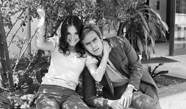 Simone (Regina Duarte) e Cristiano (Francisco Cuoco) viviam uma conturbada história de amor (Foto: CEDOC/ TV Globo)