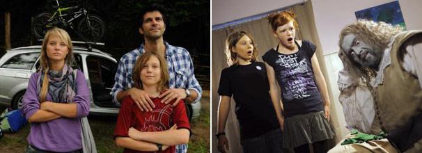 Ralf e seus filhos se mudam para uma casa mal assombrada (Foto: Divulgação)