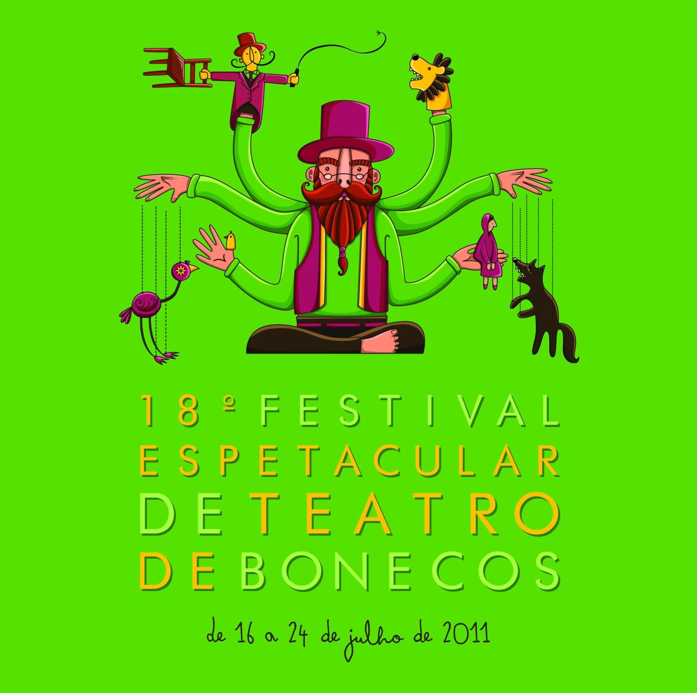 Festival Espetacular de Teatro de Bonecos (Foto: Divulgação)