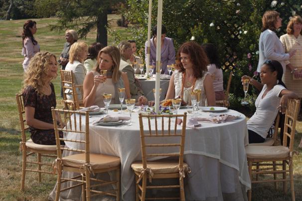 Amigas se reúnem em um retirno para mulheres em Mulheres - O Sexo Forte (Foto: Divulgação)