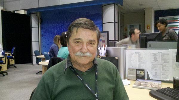 Jorge Narozniak, jornalista que cobriu a história de O Assalto (Foto: Divulgação/RPC TV)