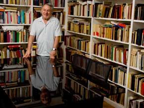 Critico literário e professor Luiz Costa Lima (Foto: Renato Velasco)