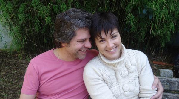 Edu Régner e Lilian Marchiori vivem Ricardo e Clara (Foto: Divulgação/RPC TV)