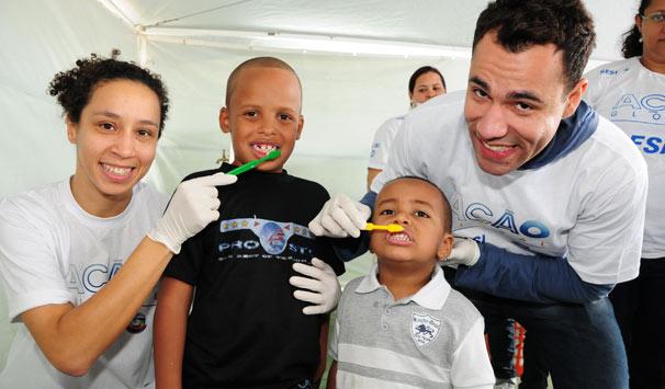 Atores se emocinoram com o projeto (Foto: Kiko Cabral/ TV Globo)