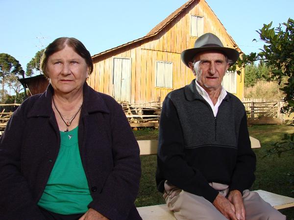 Dionizia e José Boatchuck: personagens reais (Foto: Divulgação/RPC TV)
