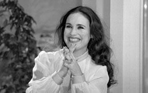 Regina Duarte interpretou Luana Camará, paranormal que sofria o distúrbio de dupla personalidade (Foto: CEDOC/ TV Globo)