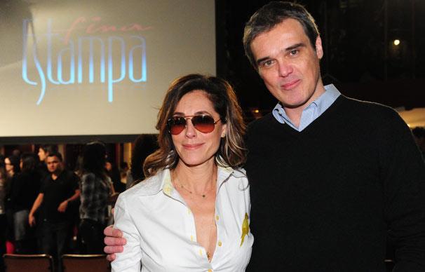 Tereza Cristina (Christiane Torloni) e Renê (Dalton Vigh) são donos de Le Velmont (Foto: João Miguel Jr./ TV Globo)