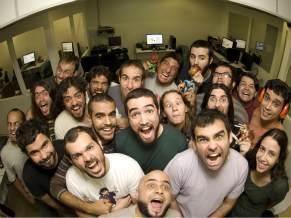 Equipe da produtora Copa Studio (Foto: Divulgação)