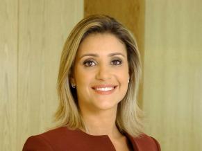 A jornalista Flávia Freire participa da abertura do evento (Foto: Divulgação TV Globo)
