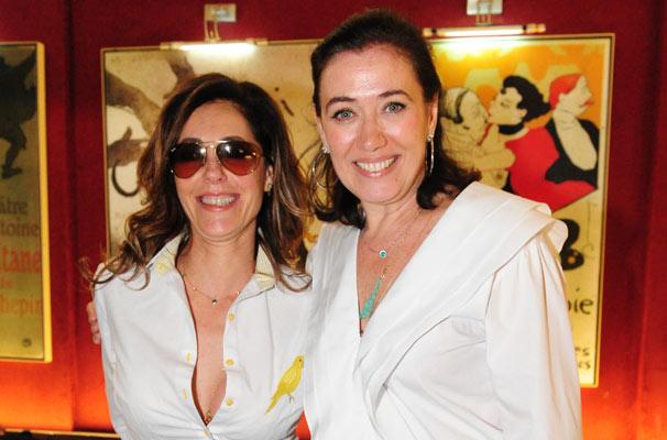 Chrsitiane Torloni e Lília Cabral interpretam duas personagens opostas: a perua Tereza Cristina e a faz-tudo Griselda, respectivamente (Foto: João Miguel Jr./ TV Globo)