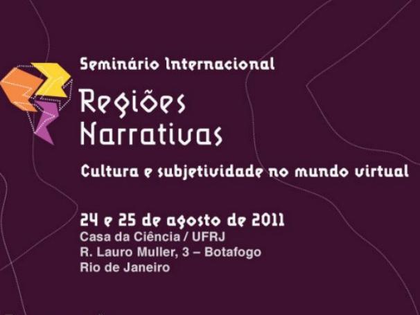 O Seminário Internacional Regiões Narrativas acontece nos dias 24 e 25 de agosto (Foto: Divulgação)