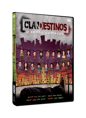 DVD da minissérie Clandestinos (Foto: TV Globo/Marcio Nunes)