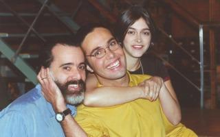 Em Laços de Família, Miguel (Tony Ramos) era pai de Paulo (Flávio Silvino) e Ciça (Júlia Feldens) (Foto: TV Globo/ CEDOC)