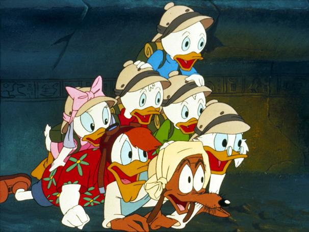 Ducktales - Os patinhos destemidos saem em uma aventura pelo Egito (Foto: Disney / Divulgação)