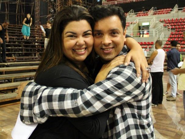 Criança Esperança: Fabiana Karla e Rodrigo Fagundos, do Zorra Total (Foto: Christina Fuscaldo)