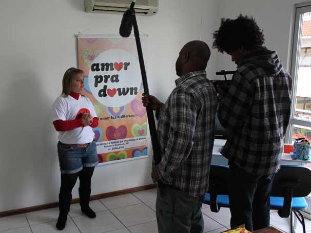 MAking of do vídeo da Cufa Filmes (Foto: Paulo Rhasta)