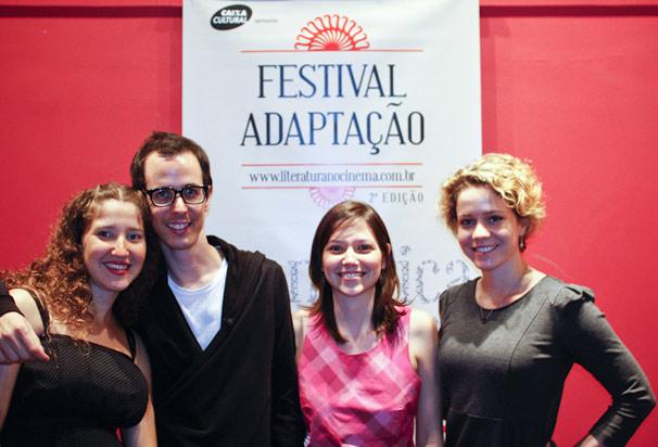 Carolina Benjamin, Lucas Paraizo, Rita Toledo e Leandra Leal (Foto: Fabio Abu-Chacra)