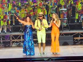 Daniela Mercury, Carlinhos Brown e Claudia Leitte (Foto: Divulgação)