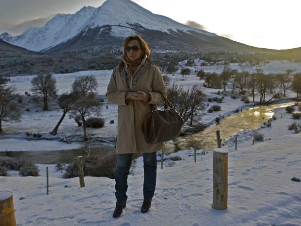 Ana Beatriz Nogueira é Eva, mãe da tenista Ana (Fernanda Vasconcellos) na próxima novela das seis (Foto: TV Globo / Fabricio Mamberti)