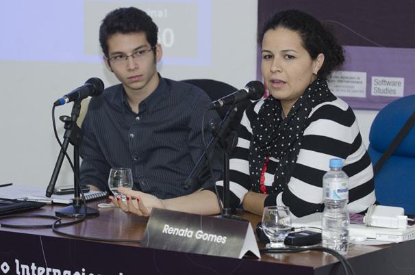 Arthur Protasio e Renata Gomes participam segunda mesa do seminário (Foto: Kiko Cabral)