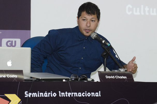 David Charles, diretor de criação e escritor que trabalhou no processo transmídia do filme Avatar (Foto: Kiko Cabral)
