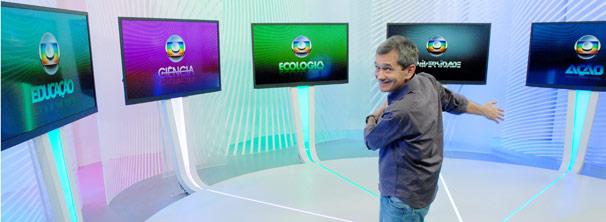Globo Cidadania reúne Globo Educação, Ciência, Ecologia, Universidade e Ação (Foto: TV Globo / Zé Paulo Cardeal)