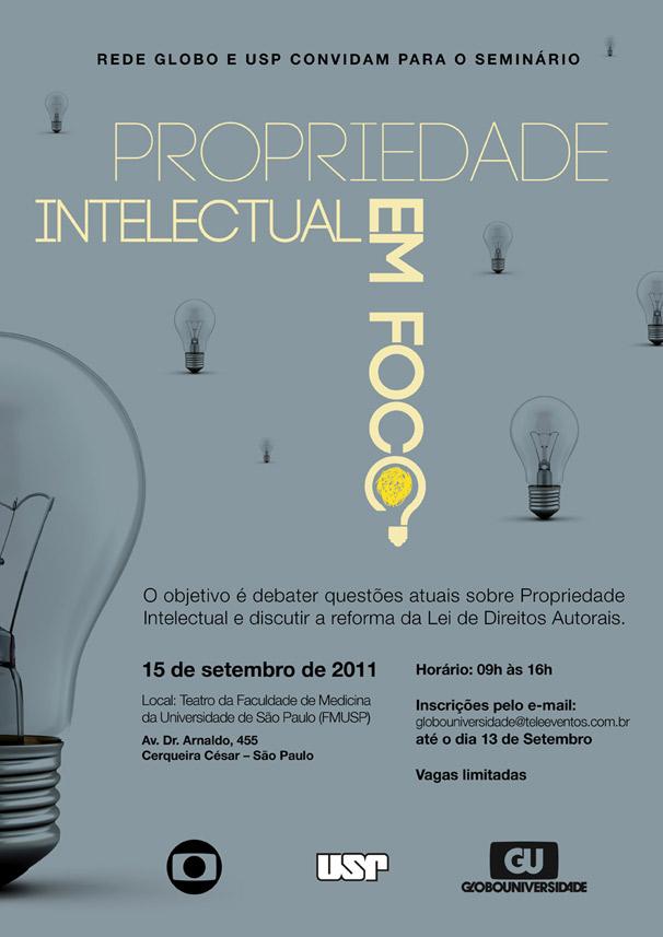 Inscreva-se para o Seminário Propriedade Intelectual em Foco (Foto: Divulgação)