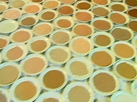 Areias utilizadas por Goiandira (Foto: TV Anhanguera - GO)
