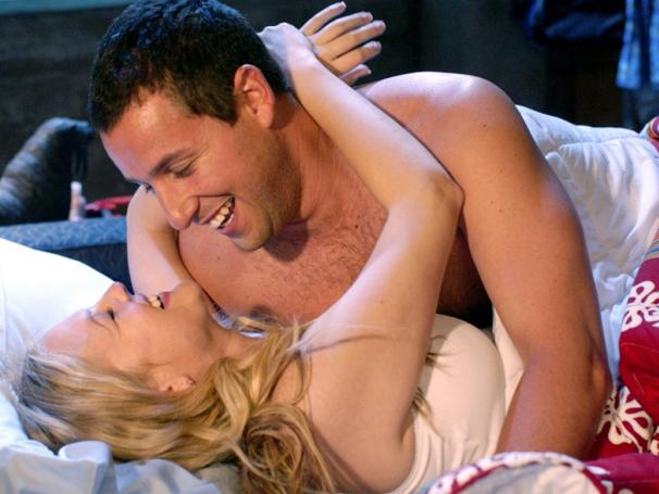 Henry Roth (Adam Sandler) Lucy (Drew Barrymore) (Foto: Divulgação)