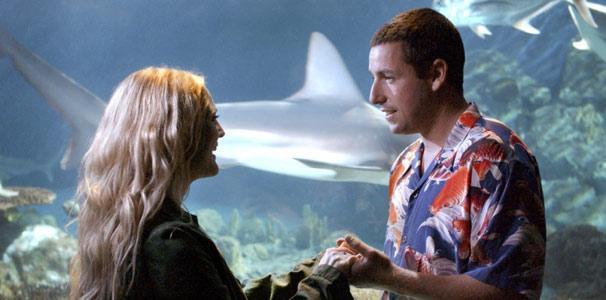 Henry (Adam Sandler) se apaixona por Lucy (Drew Barrymore)  (Foto: Divulgação)