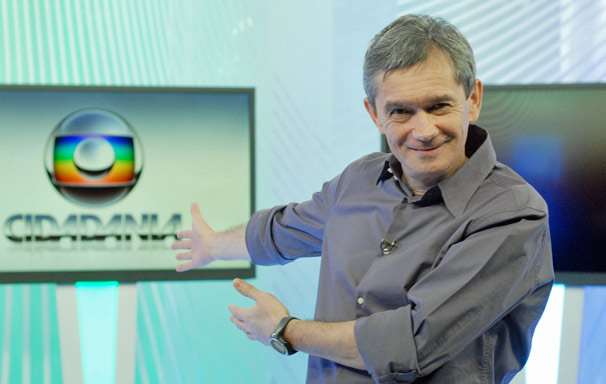 Serginho Groisman comanda o programa Globo Cidadania, exibido aos sábados, às 6h (Foto: TV Globo)