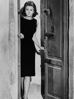 """Sophia Loren no filme """"O condenado de Altona"""", de Jean-Paul Sartre (Foto: Reprodução)"""