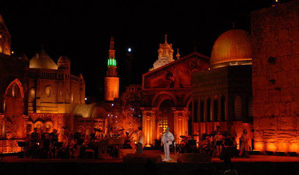 Roberto Carlos em Jerusalém (Foto: Zé Paulo Cardeal/ TV Globo)