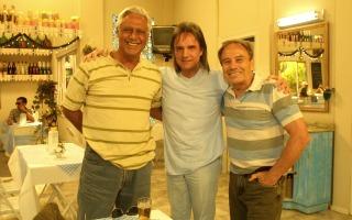 Roberto Carlos especial com Pedro e Bino (Foto: TV Globo/ CEDOC)